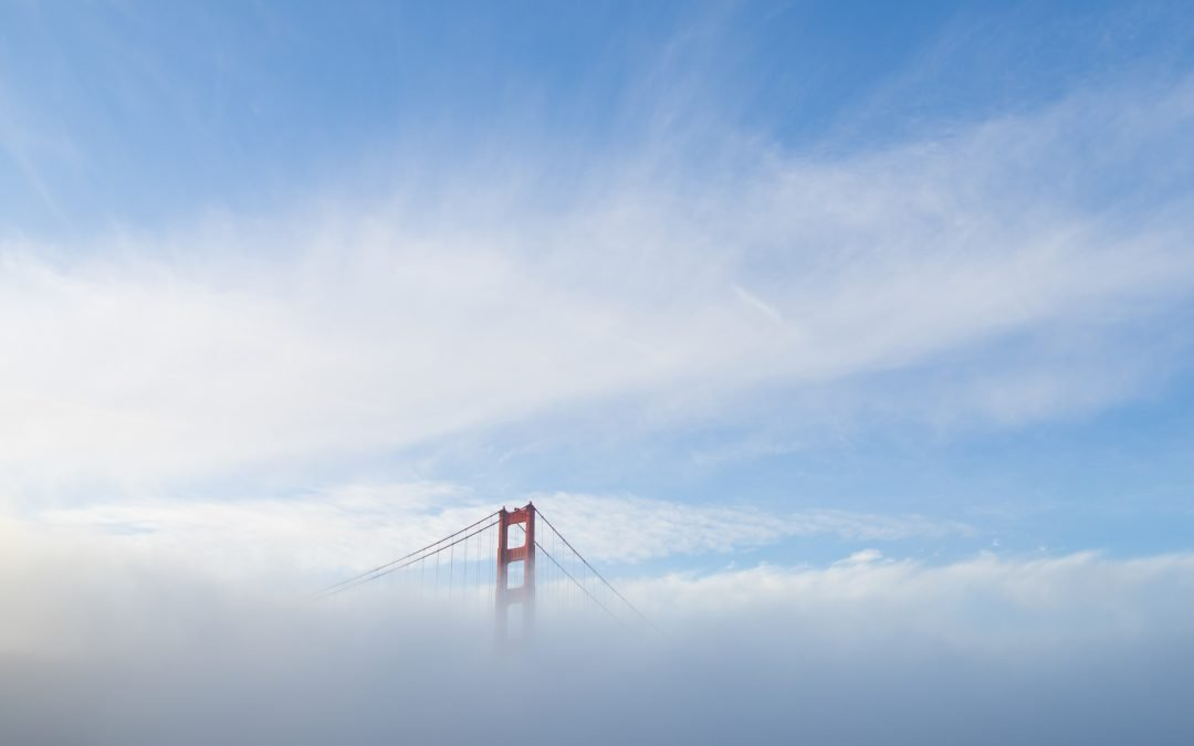San Francisco Bridge in Fog